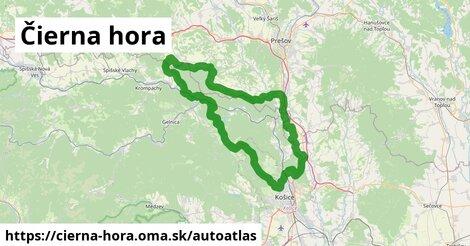 ikona Mapa autoatlas  cierna-hora