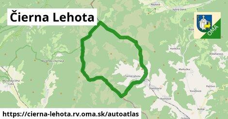 ikona Mapa autoatlas  cierna-lehota.rv
