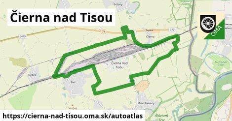 ikona Mapa autoatlas  cierna-nad-tisou