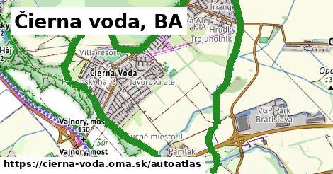 ikona Mapa autoatlas  cierna-voda