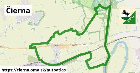 ikona Mapa autoatlas  cierna