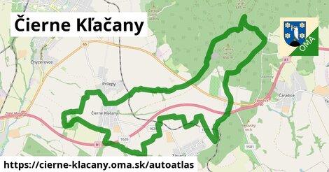 ikona Mapa autoatlas  cierne-klacany