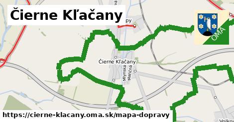 ikona Mapa dopravy mapa-dopravy v cierne-klacany