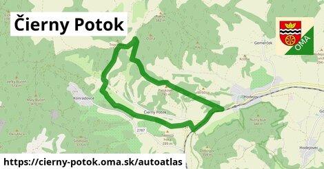 ikona Mapa autoatlas  cierny-potok
