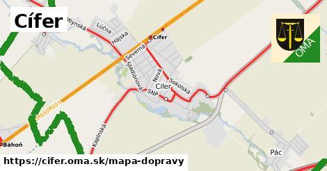 ikona Mapa dopravy mapa-dopravy  cifer