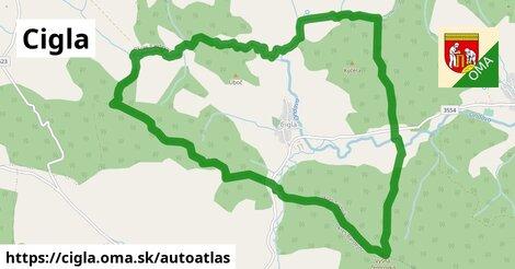 ikona Mapa autoatlas  cigla