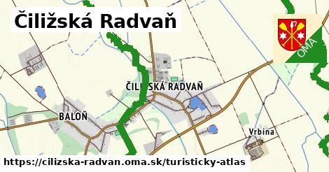 ikona Turistická mapa turisticky-atlas  cilizska-radvan
