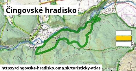 ikona Turistická mapa turisticky-atlas  cingovske-hradisko