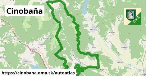 ikona Mapa autoatlas  cinobana