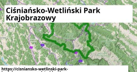 ikona Cykloatlas cykloatlas  cisniansko-wetlinski-park-krajobrazowy