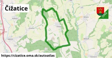 ikona Mapa autoatlas  cizatice