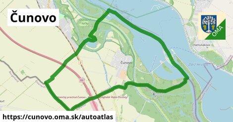 ikona Mapa autoatlas  cunovo