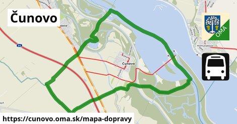 ikona Mapa dopravy mapa-dopravy  cunovo