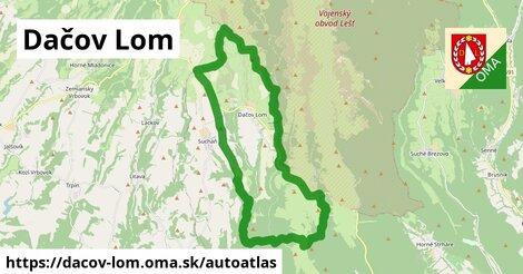 ikona Mapa autoatlas  dacov-lom