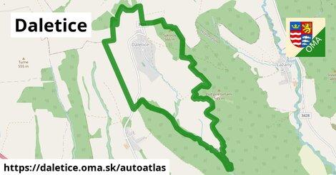 ikona Mapa autoatlas  daletice