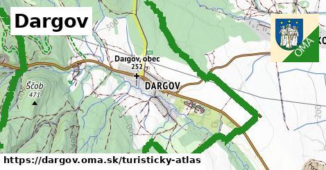 ikona Turistická mapa turisticky-atlas  dargov
