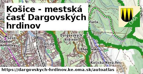 ikona Mapa autoatlas  dargovskych-hrdinov.ke