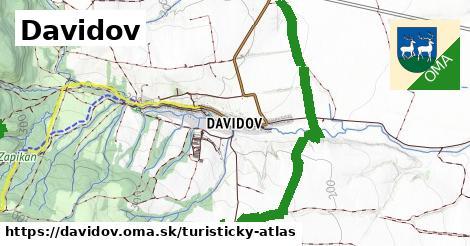 ikona Turistická mapa turisticky-atlas  davidov