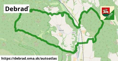 ikona Mapa autoatlas  debrad
