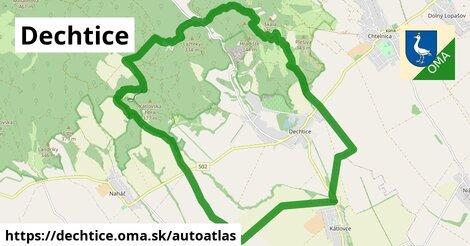 ikona Mapa autoatlas  dechtice
