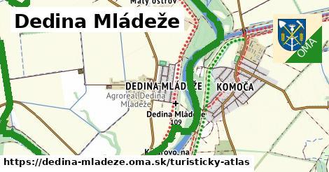 ikona Turistická mapa turisticky-atlas  dedina-mladeze