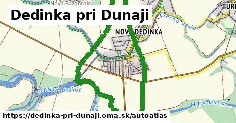ikona Mapa autoatlas  dedinka-pri-dunaji
