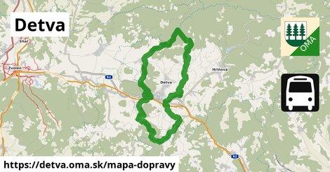 ikona Mapa dopravy mapa-dopravy  detva