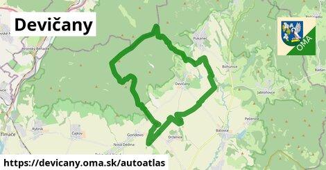 ikona Mapa autoatlas  devicany