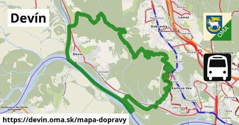 ikona Mapa dopravy mapa-dopravy  devin