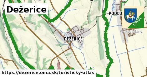 ikona Dežerice: 0m trás turisticky-atlas v dezerice