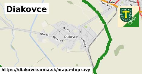ikona Mapa dopravy mapa-dopravy  diakovce