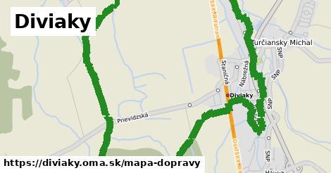 ikona Diviaky: 4,7km trás mapa-dopravy v diviaky