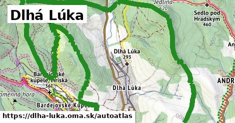 ikona Mapa autoatlas  dlha-luka