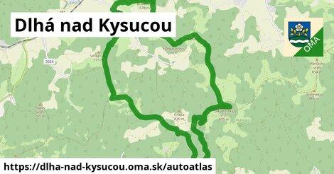 ikona Mapa autoatlas  dlha-nad-kysucou