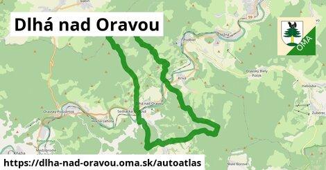 ikona Mapa autoatlas  dlha-nad-oravou
