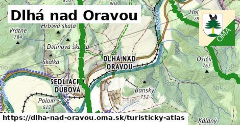 ikona Turistická mapa turisticky-atlas  dlha-nad-oravou