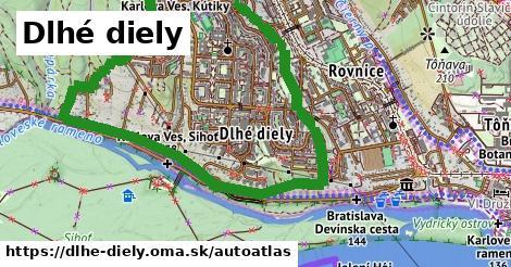 ikona Mapa autoatlas  dlhe-diely