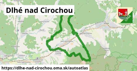 ikona Mapa autoatlas  dlhe-nad-cirochou