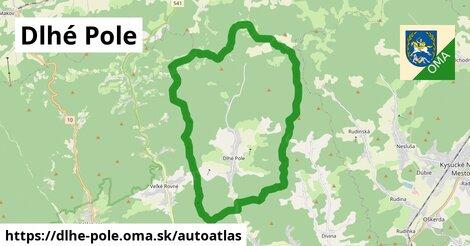 ikona Mapa autoatlas  dlhe-pole