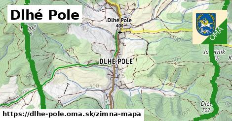 ikona Zimná mapa zimna-mapa  dlhe-pole