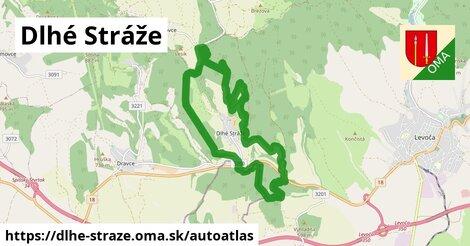 ikona Mapa autoatlas  dlhe-straze