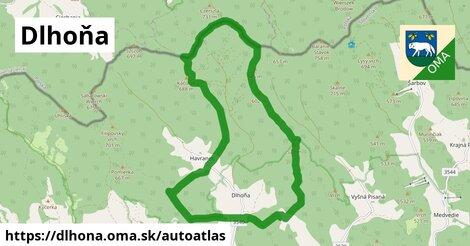 ikona Mapa autoatlas  dlhona