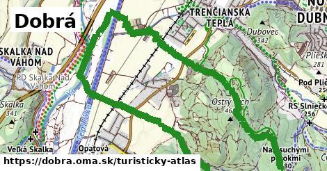 ikona Dobrá: 1,49km trás turisticky-atlas  dobra