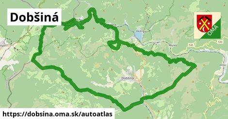 ikona Mapa autoatlas  dobsina