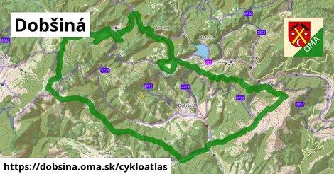 ikona Dobšiná: 30km trás cykloatlas  dobsina