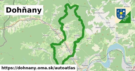 ikona Mapa autoatlas  dohnany