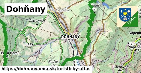 ikona Dohňany: 20km trás turisticky-atlas  dohnany