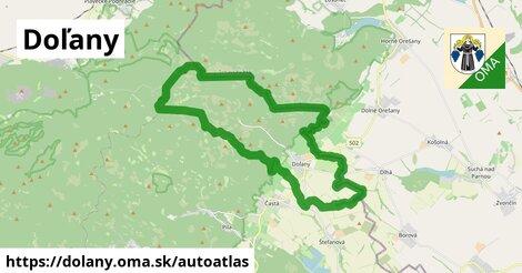ikona Mapa autoatlas  dolany