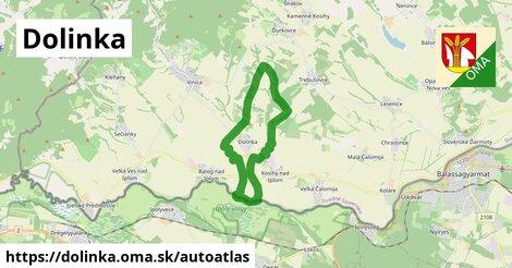 ikona Mapa autoatlas  dolinka