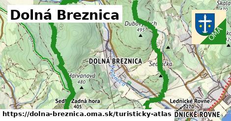 ikona Turistická mapa turisticky-atlas  dolna-breznica